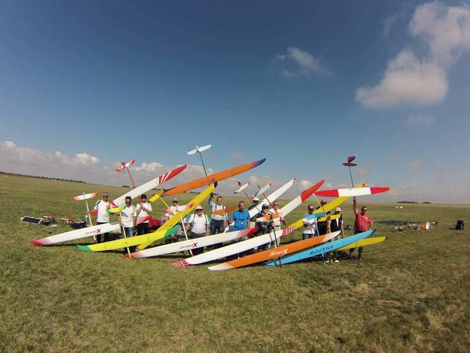 Compétitions Planeurs F3J – Treuil -durée/précision 2015