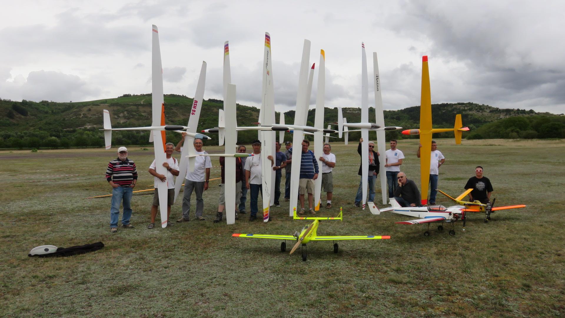 Compétitions planeurs Remorqués durée/précision 2015