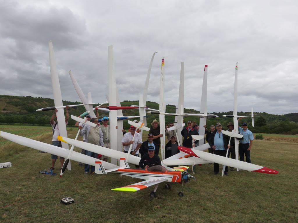 Challenge planeur remorqué à Auxerre le 21 août 2016