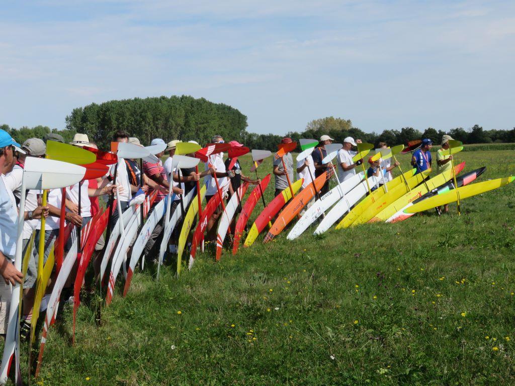 Concours de sélection F3J à Mâcon