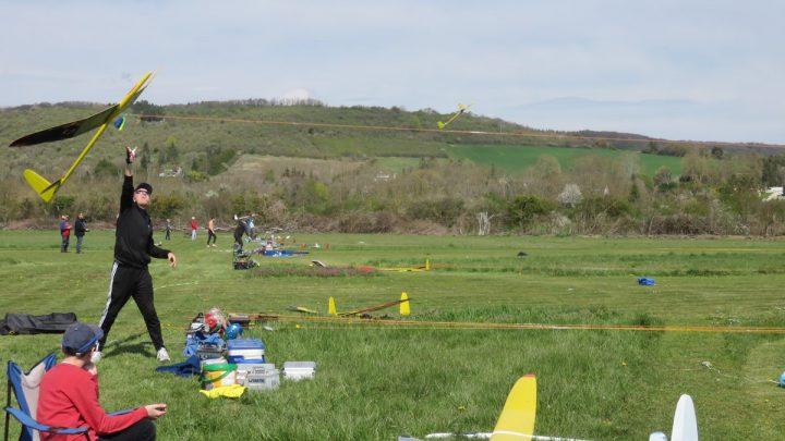 Concours de sélection F3J à Joigny